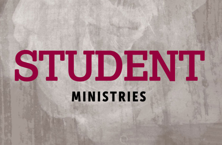 Student Ministries Banner