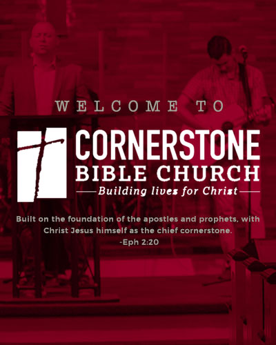 Cornerstone Bible Church Banner